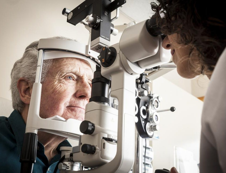 Diabetic Eye Disease Exam