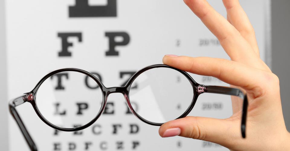 glasses snellen chart eye health vision 20/20